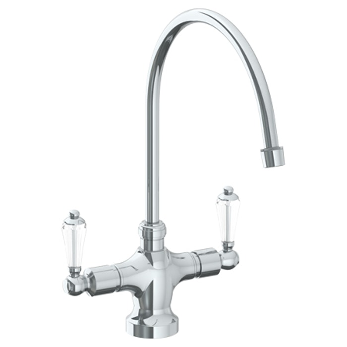 Venetian 180 - Deck Mounted 1 Hole Kitchen Faucet with 9 3/4 ...